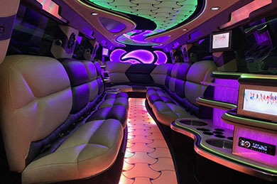 A view of one of our smaller yet highly luxurious limos